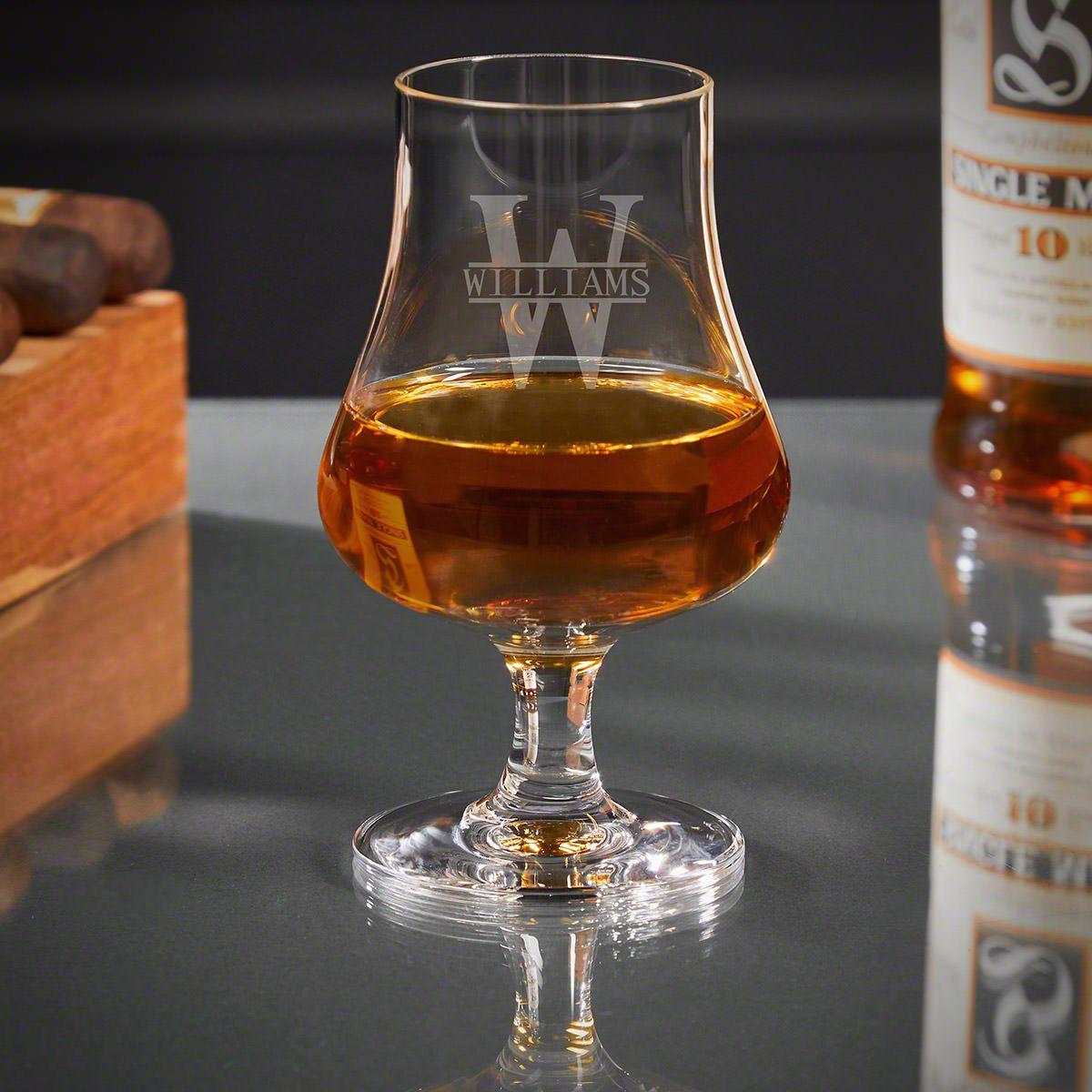 Oakmont Personalized Whiskey Nosing Glass