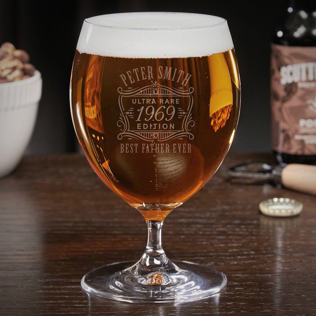 Ultra Rare Edition Custom Grand Snifter Beer Glass