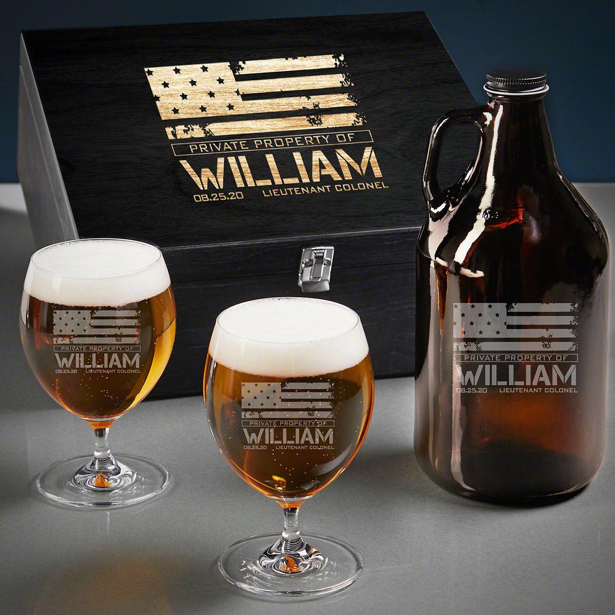 American Heroes Custom Grand Beer Military Gifts