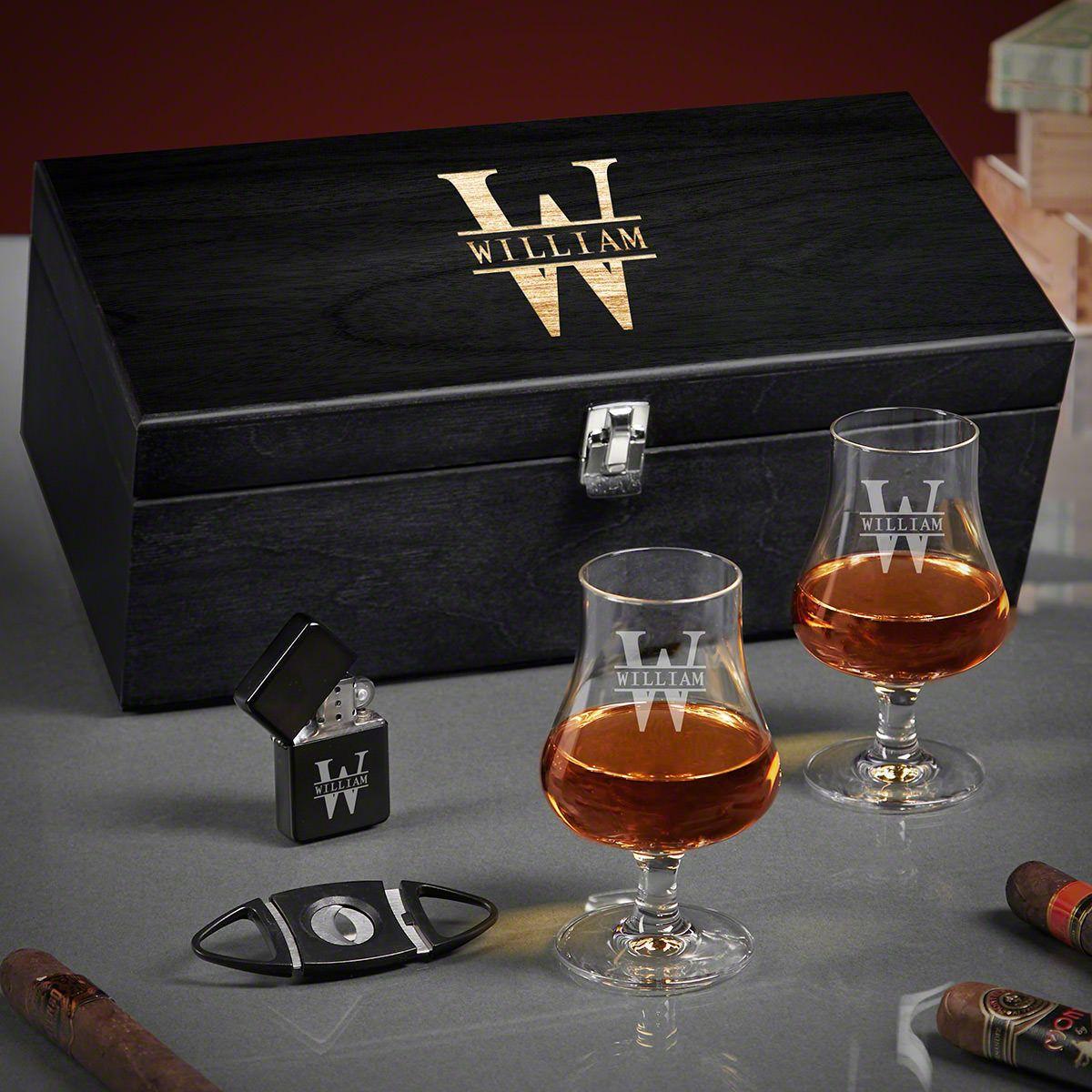 Oakmont Engraved Nosing Whiskey Gifts