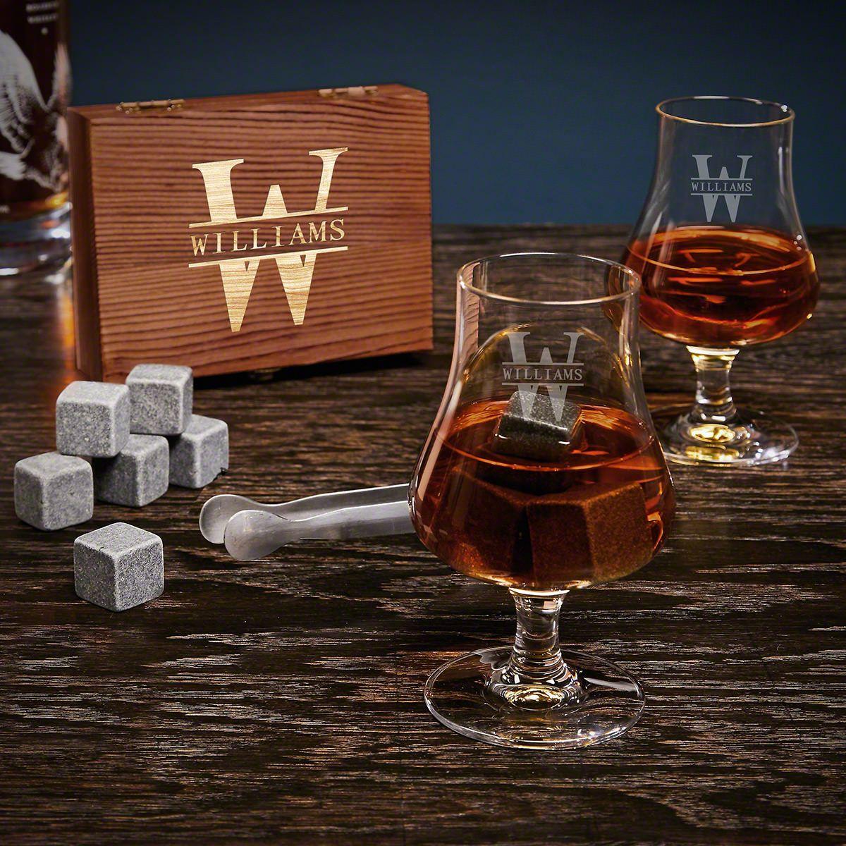 Oakmont Personalized Nosing Whiskey Gift Set