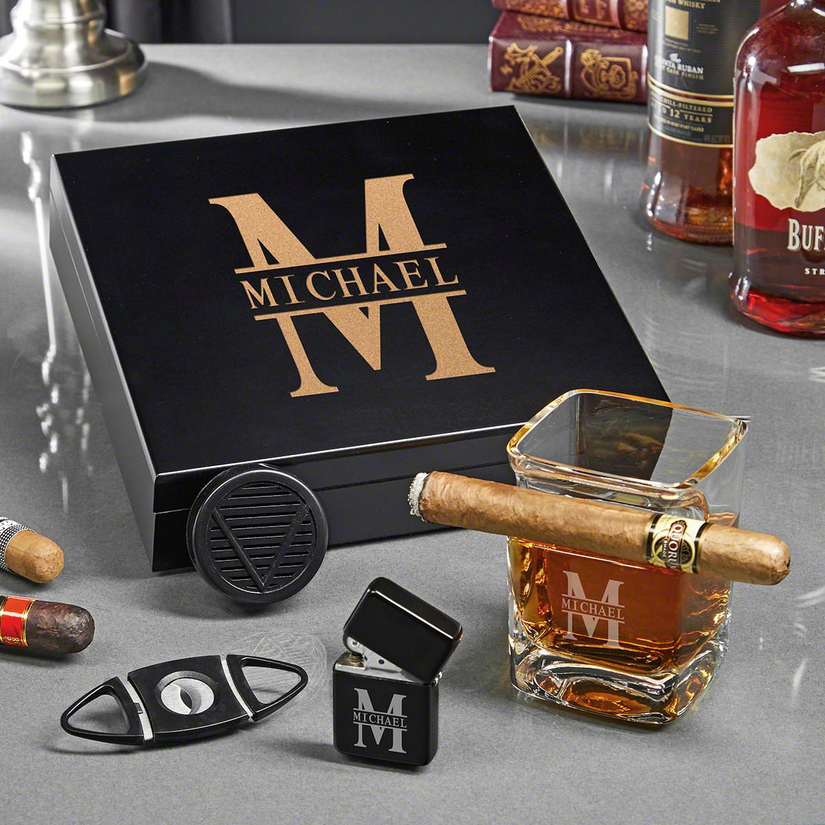 Oakmont Engraved Gifts for Cigar Lovers