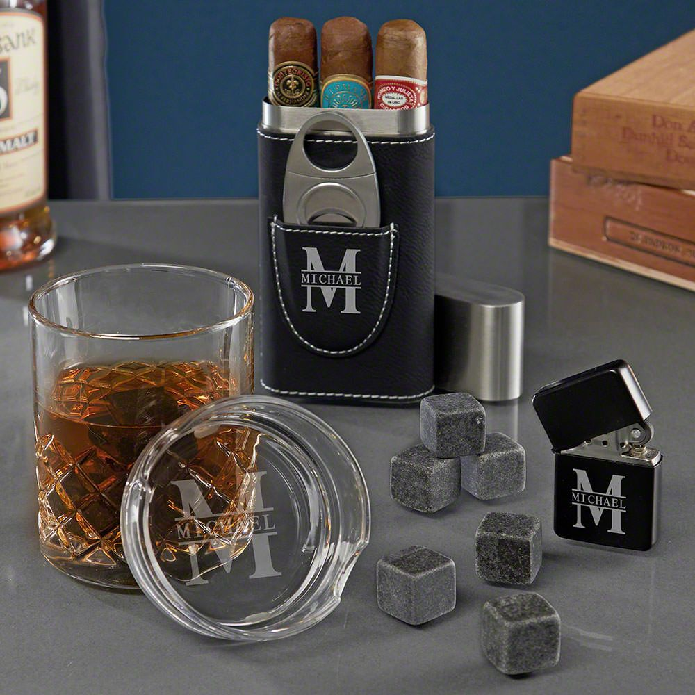 Oakmont Personalized Sterling Gifts for Cigar Smoker