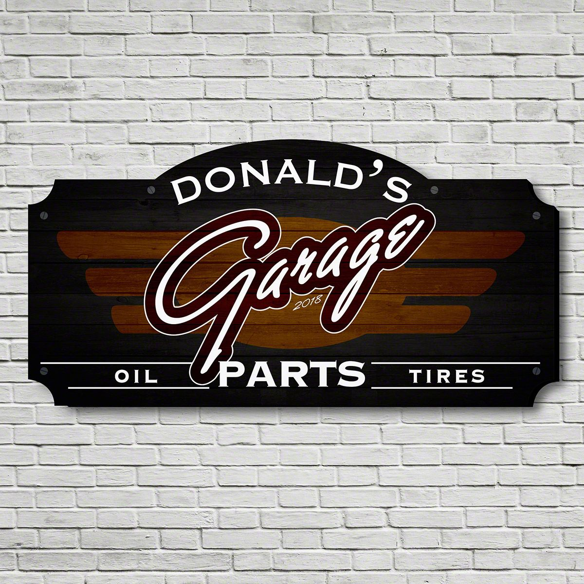 Premium Parts Custom Garage Sign