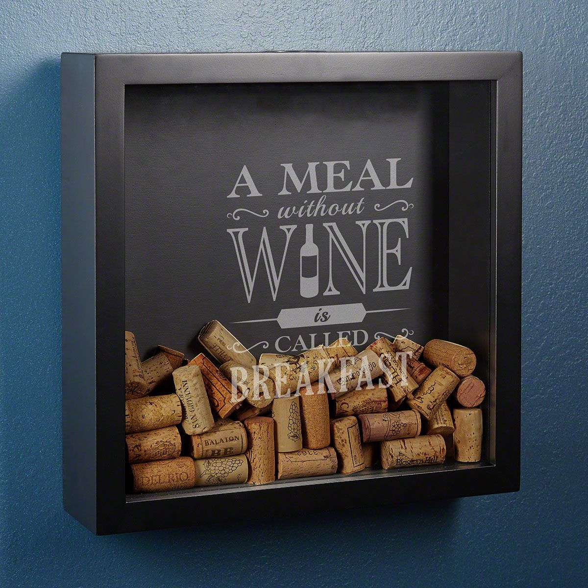 Meal Without Wine Custom Shadow Box