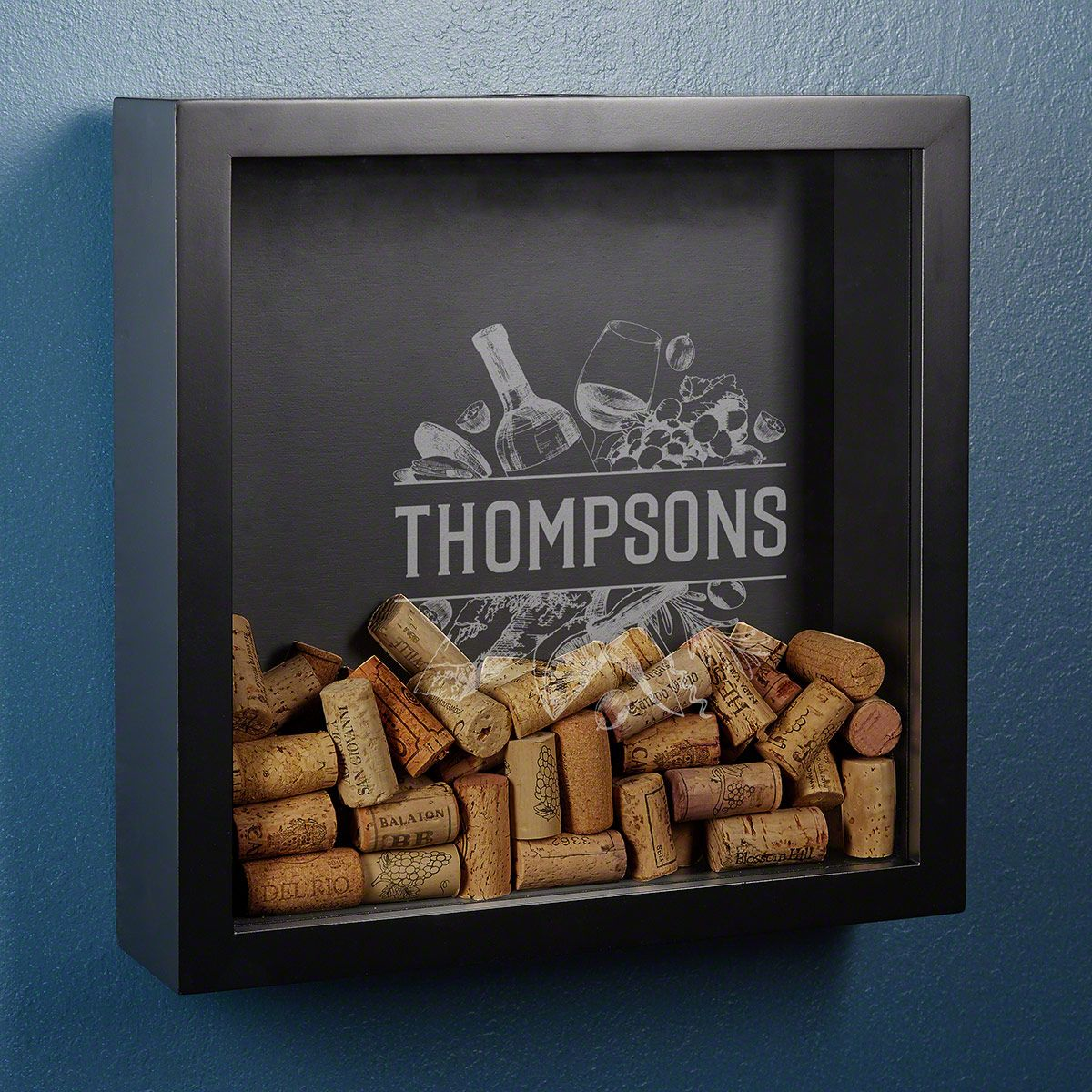 Turley Custom Wine Cork Shadow Box