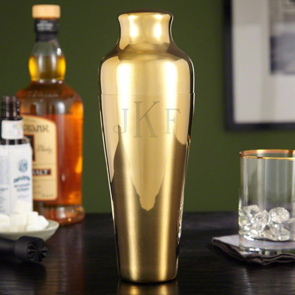 Fairfield Gold Cocktail Shaker