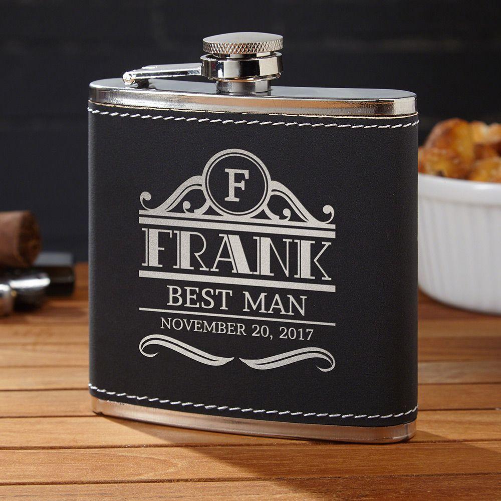 Rockefeller Custom Radcliff Liquor Flask
