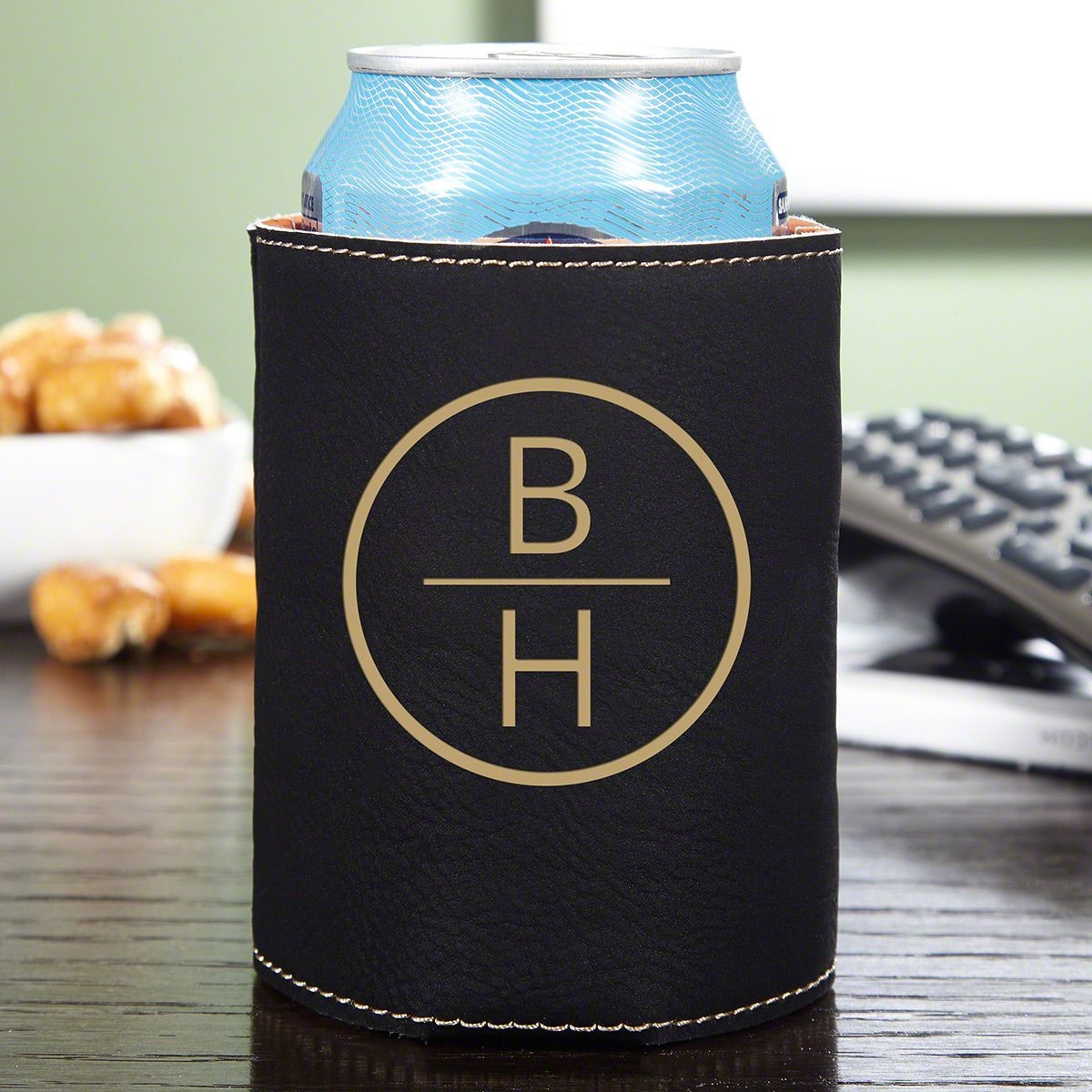 Emerson Monogrammed Cozy Beer Holder