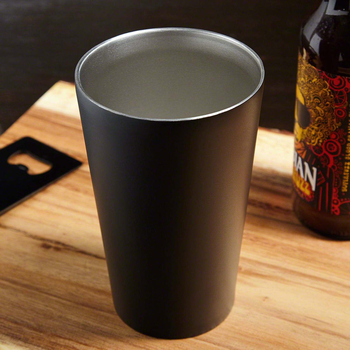 Outdoor Life Engraved Insulated Stainless Steel Pint Glass For Hunters