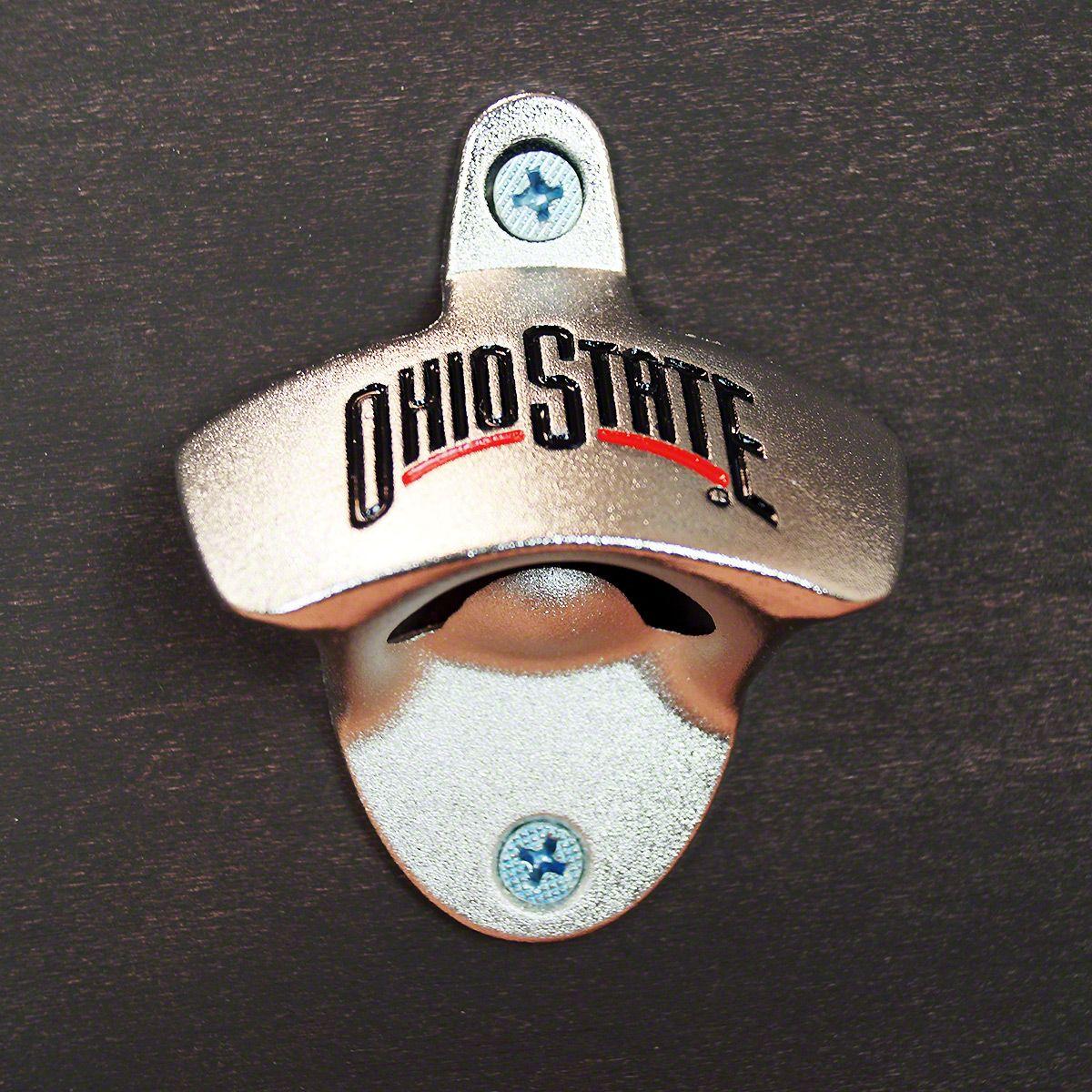 Ohio State Wall Mounted Bottle Opener