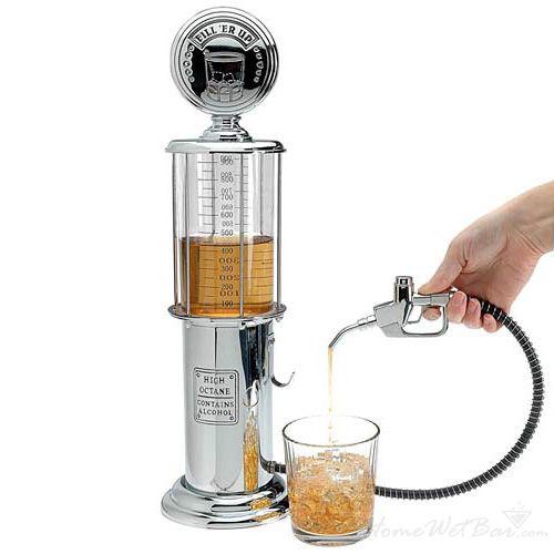 Gas Pump Retro Liquor Dispenser