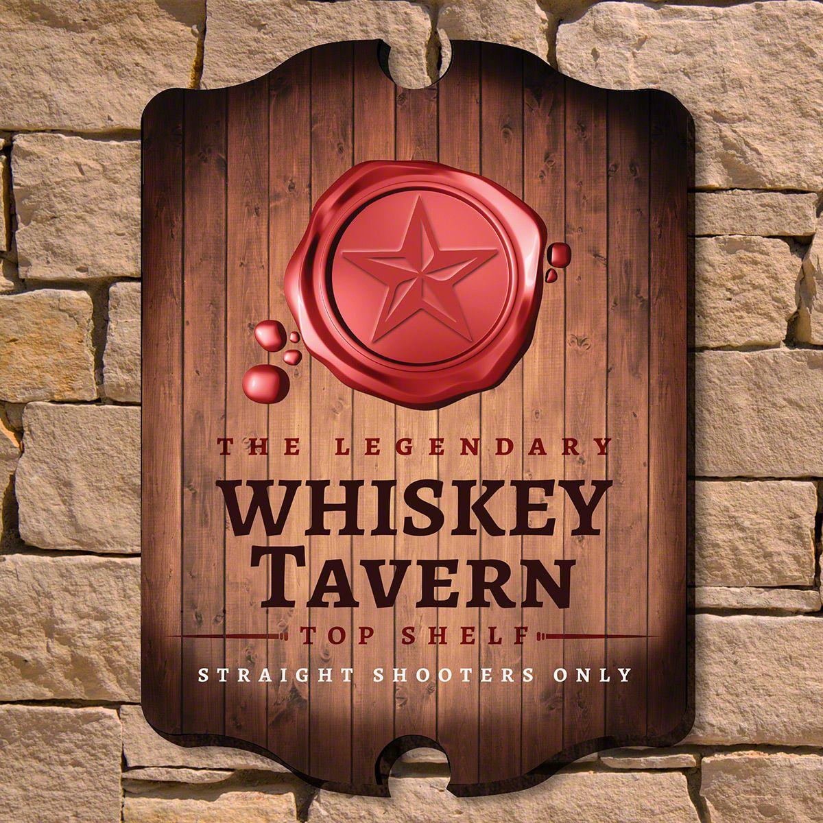 Legendary Whiskey Tavern Sign