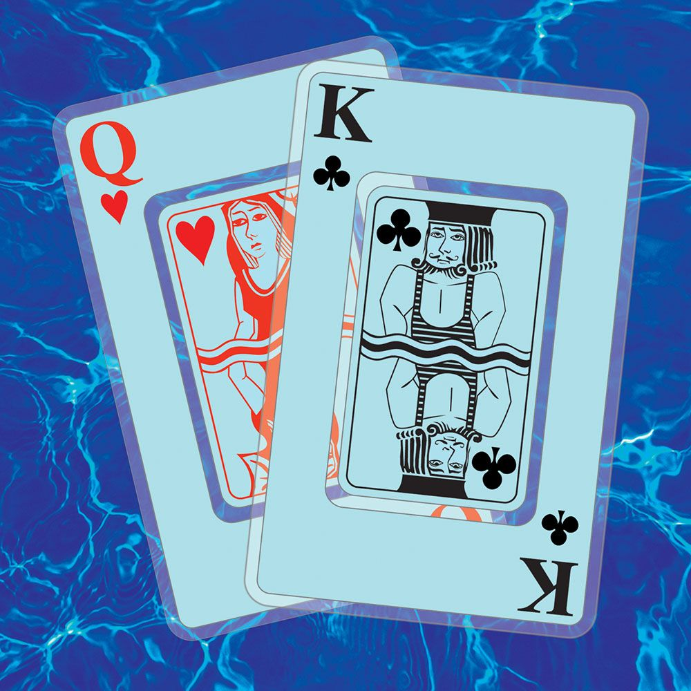 Pool Party Waterproof Plastic Playing Cards
