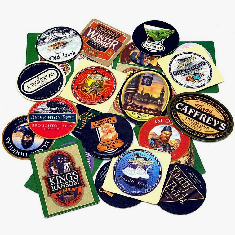 Set of 4 Old MacDonalds Coasters from Pub World