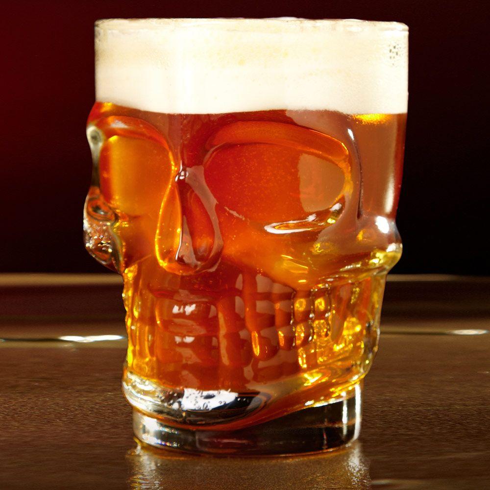 Skull of Doom Beer Stein
