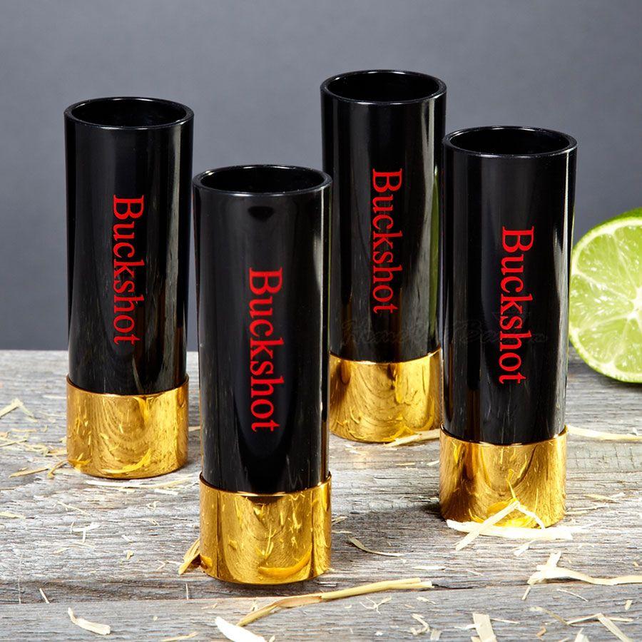 Buckshot Shot Glasses, Set of 4