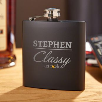3875bb9c74f2 The Man The Myth The Legend Engraved Flask