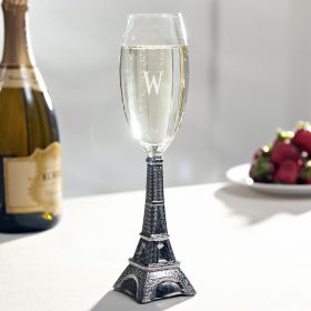 Lejeune Silver Eiffel Tower Champagne Glass
