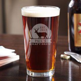 Six Point Brew Personalized Pint Glass