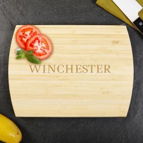Classic Cut Golden Bamboo Cutting Board 10X14