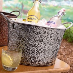Hyde Park Metal Beverage Tub