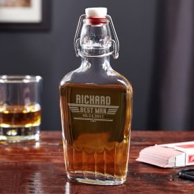 Maverick Custom Speakeasy Glass Flask