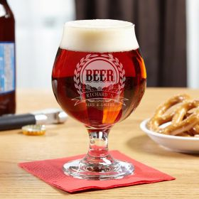 Mark of Excellence Snifter Beer Glass