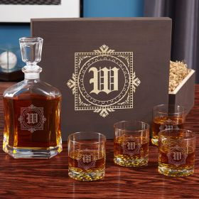Winchester Whiskey Gift Set with Buckman Glasses