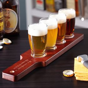 Clarkson Personalized Beer Flight Set