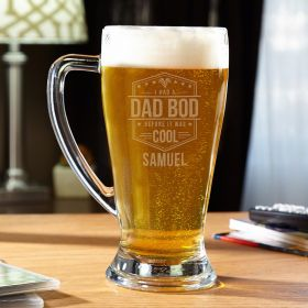 Dad Bods are Cool Personalized Funny Beer Stein