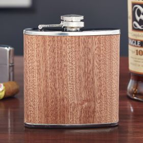 Walden Wood Liquor Flask