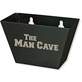 Man Cave Bottle Cap Catcher
