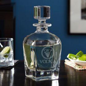 Draper Top Shelf Custom Liquor Decanter - Choose Your Design