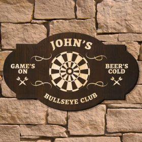 Bullseye Custom Bar Sign (Signature Series)