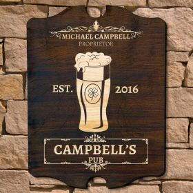 Irish Pint Personalized Pub Sign (Signature Series)