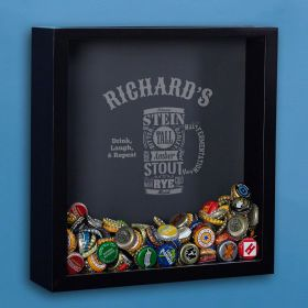 Modern Beer Custom Shadow Box