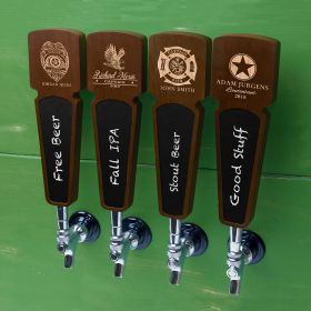 Custom Proud to Serve Chalkboard Tap Handle