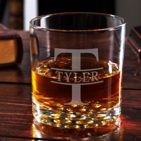 Oakmont Buckman Personalized Whiskey Glass