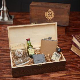 Oxford Custom Whiskey Lover Gift Set