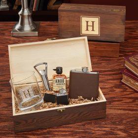 All the Vices Block Custom Block Monogram Gift Box for Men
