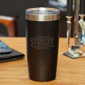 Stanford Stainless Steel Insulated Yeti Tumbler Gift for Groomsmen