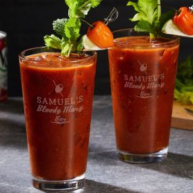 Custom Bloody Mary Glasses