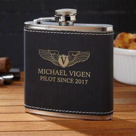 Take Flight Custom Flask – Aviator Gift