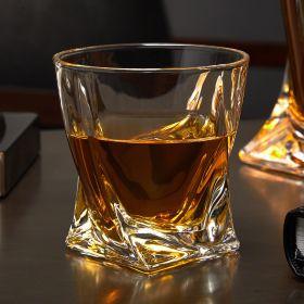 Whiskey Twist Glass