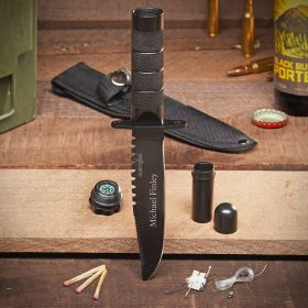 Personalized Tactical Survival Knife