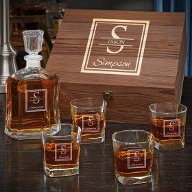Oakhill Custom Whiskey Gift Set for Men