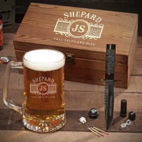 Marquee Custom Beer Mug Set – Gift for Men