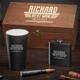 Steel Class Maverick Engraved Box Set – Groomsmen Gift