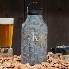 Classic Monogram Personalized Beer Growler
